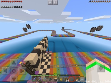 SNES Rainbow Road