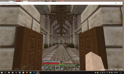 The Alamo Inside