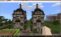 Twin Victorian Houses
