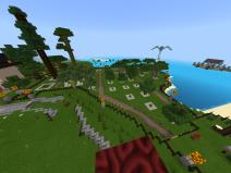 Enclosed community tree farm