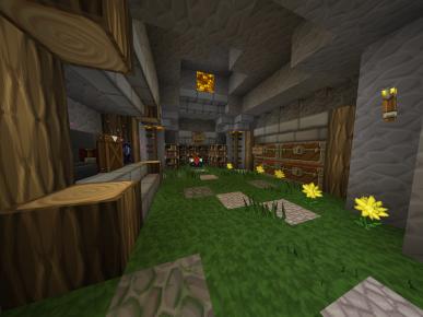 Enchanting room of public xp farm